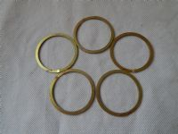 "5 x Split Spring Washer/Ring Inside Diam 1 1/2"" Cadmium Plated Steel [G6]"